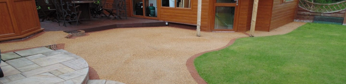 Resin Bound Paving in Carlisle, Cumbria